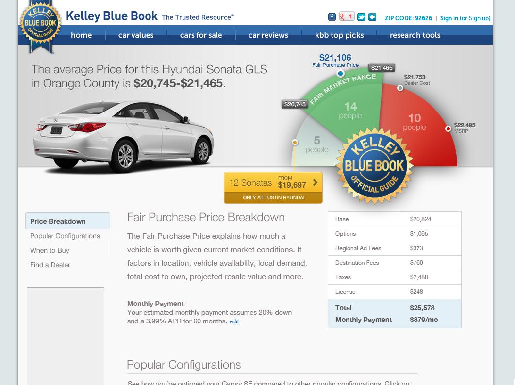 Kelley Blue Book | Cory Watilo