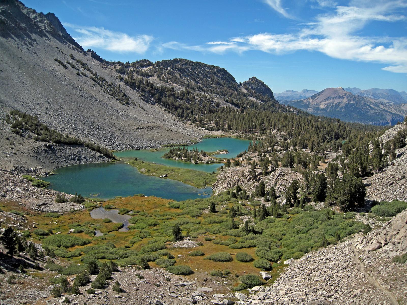 north of Duck Pass, near Mammoth Lakes, CA