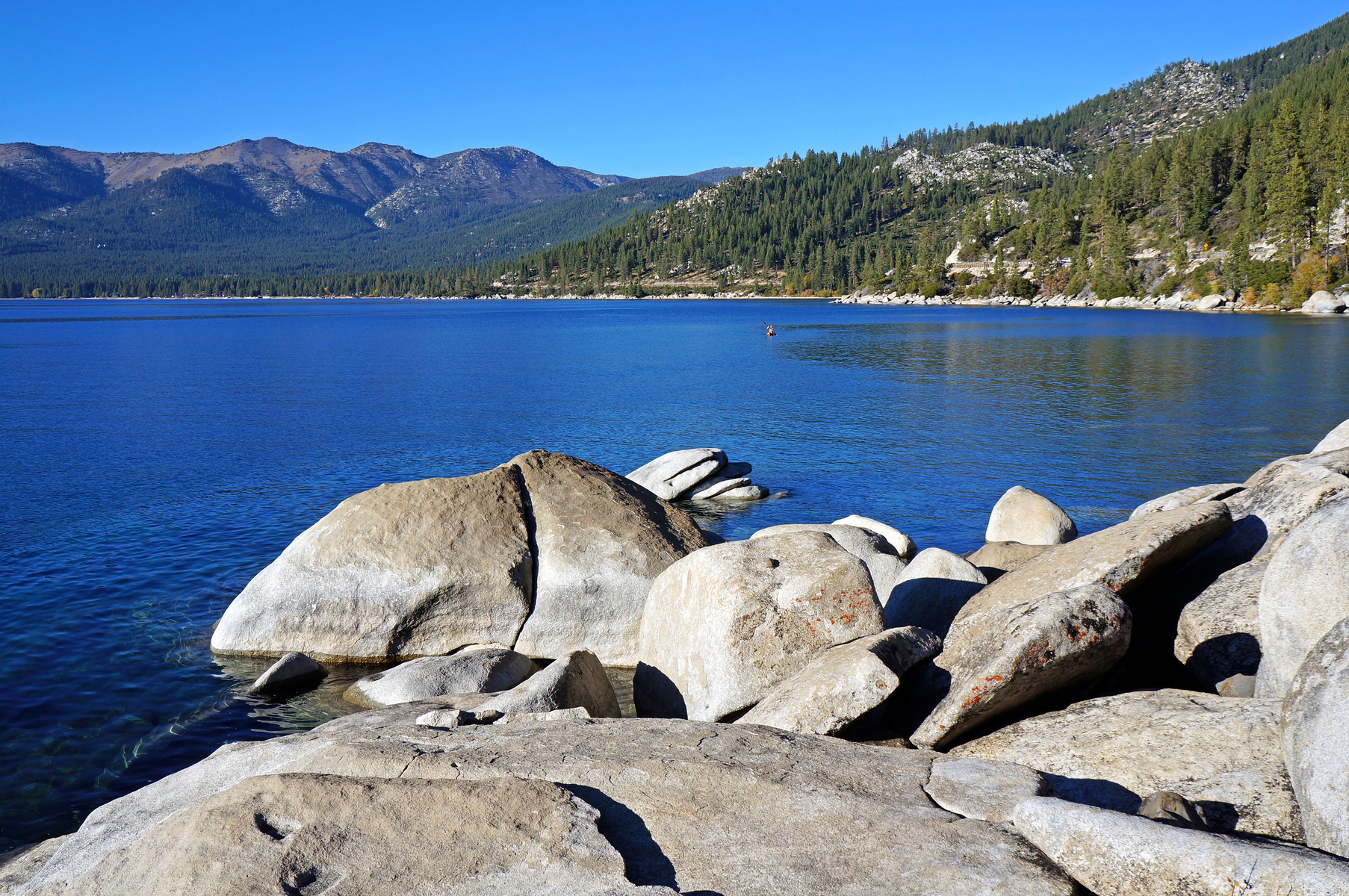 east shore south of Incline Village, Nevada