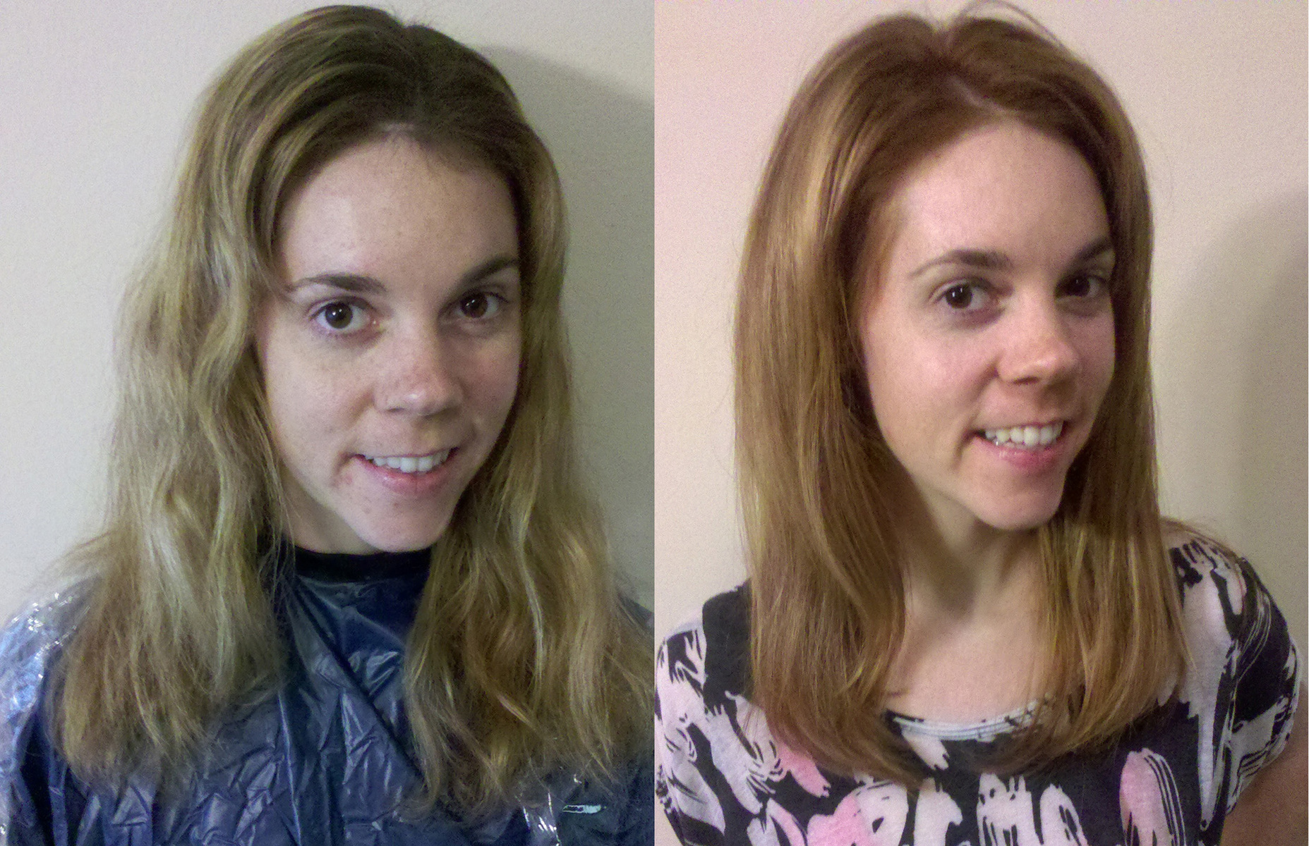 Corrective color and cut touch-up
