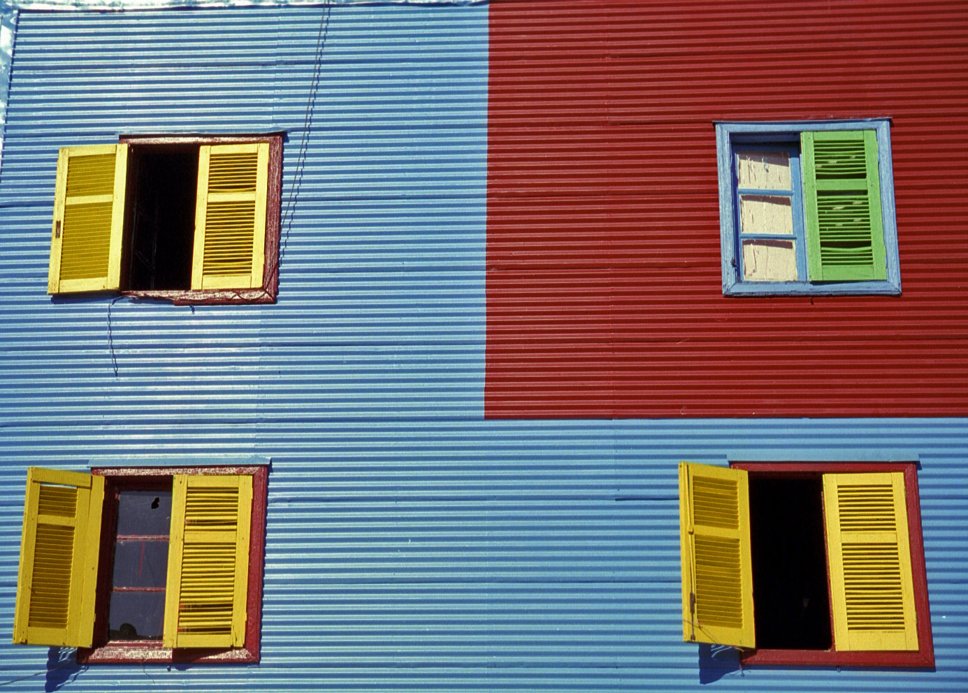 the La Boca neighborhood, Buenos Aires (this image not suitable for large prints)