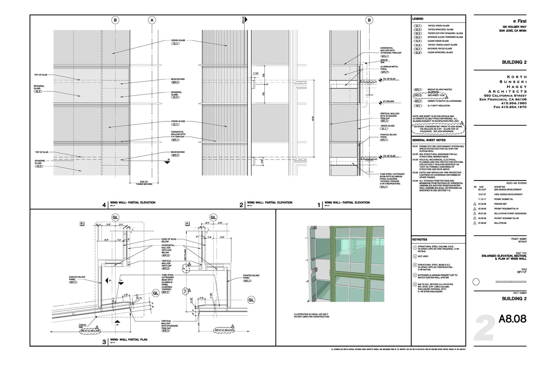 Construction Documents Enlarged Plan, Elevation, Section