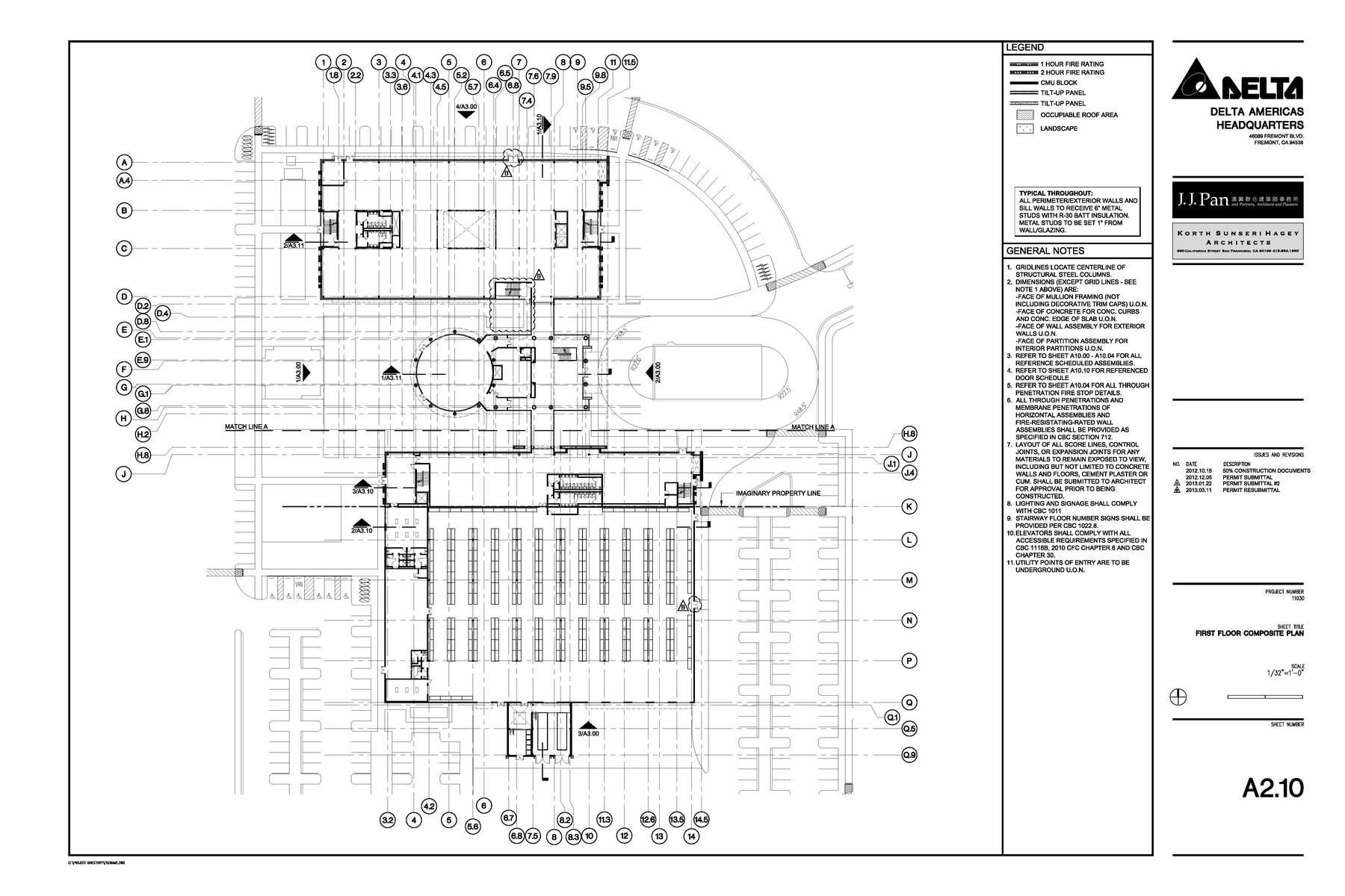 Construction Documents Floor Plan