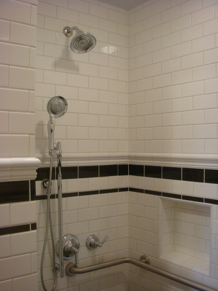 Construction Photograph Shower
