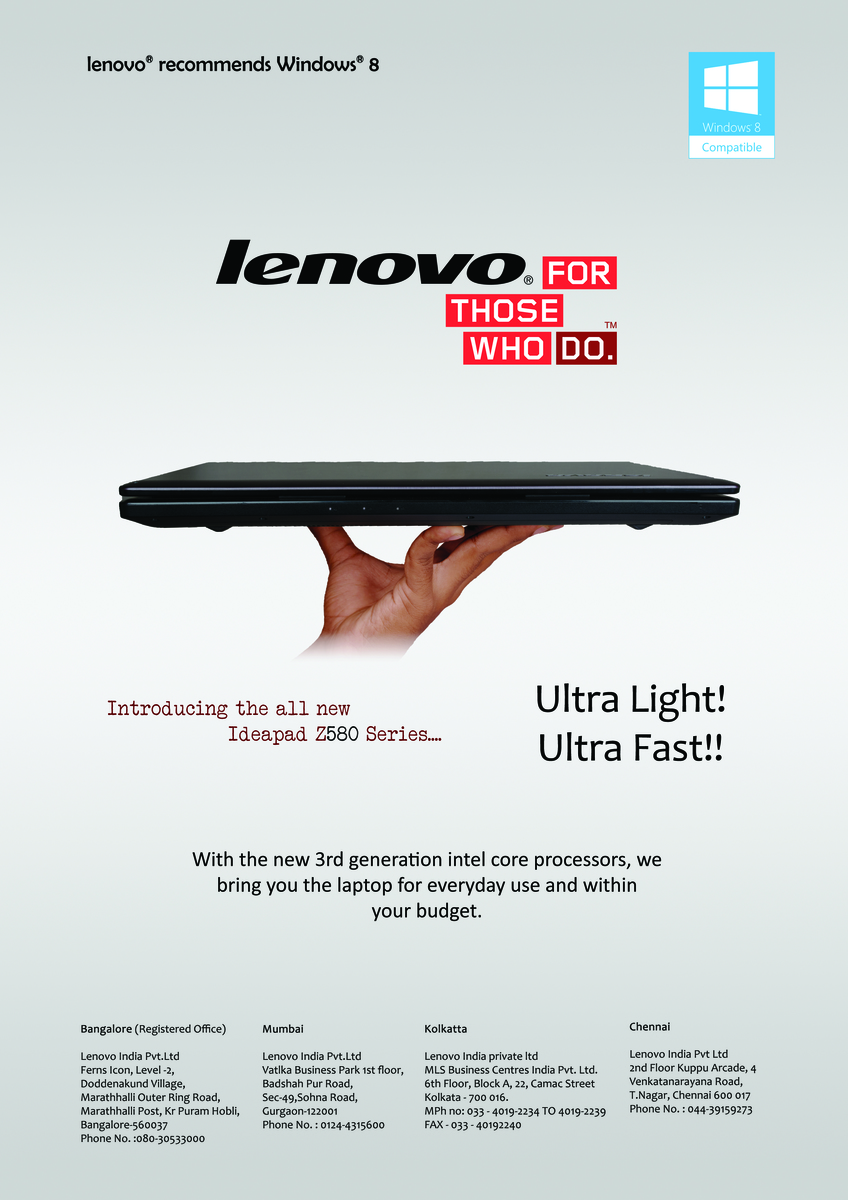 lenovo advertisement analysis